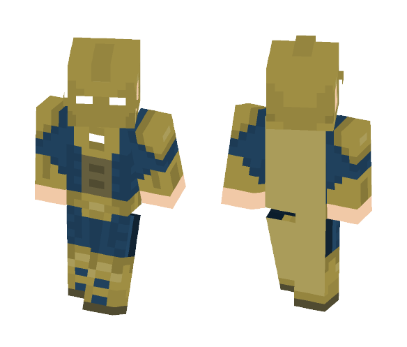 Dr Fate - Injustice 2 - Male Minecraft Skins - image 1