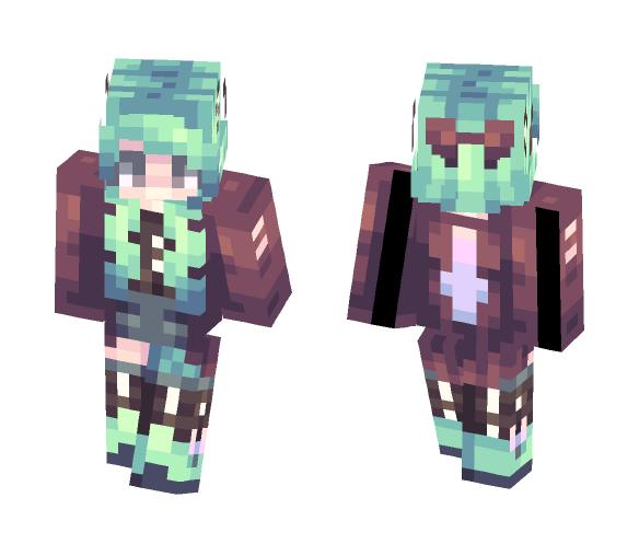 I'm a kitchen sink - Female Minecraft Skins - image 1