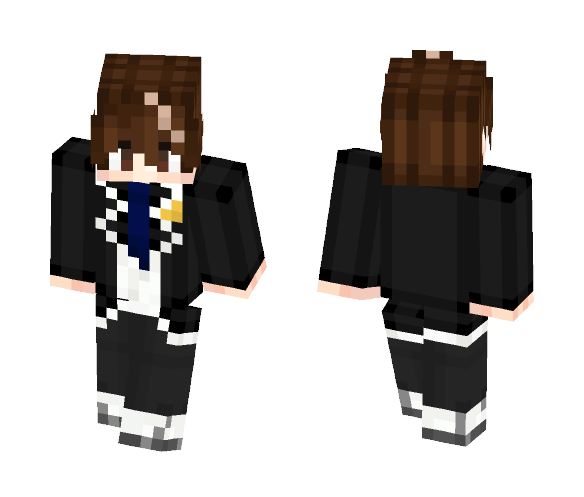 Guilty Crown ~ Shu Ouma - Male Minecraft Skins - image 1