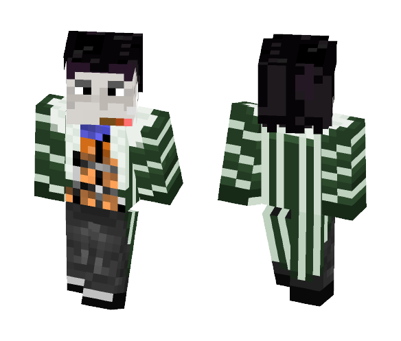 Sir Crocodile (Reworked) - Male Minecraft Skins - image 1
