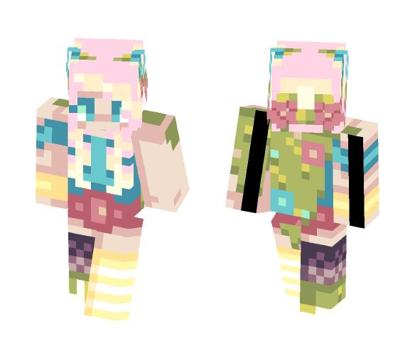 Flower fields - Female Minecraft Skins - image 1