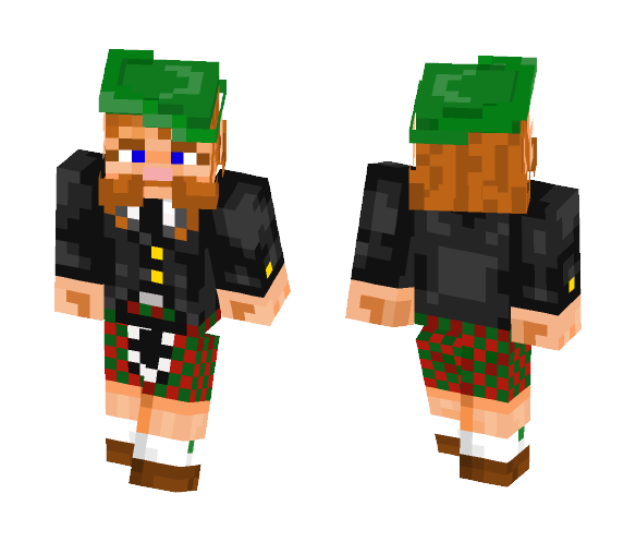 Red bearded Scottish dude - Male Minecraft Skins - image 1