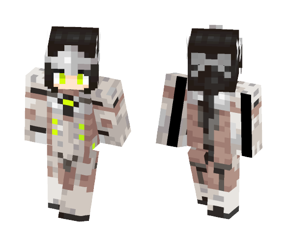 Girl Genji ! Skin Base by Aegeah - Female Minecraft Skins - image 1