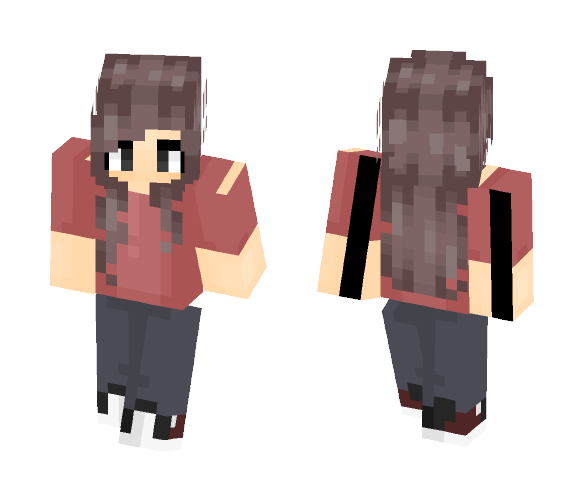 Persona without Horns (fem) - Interchangeable Minecraft Skins - image 1