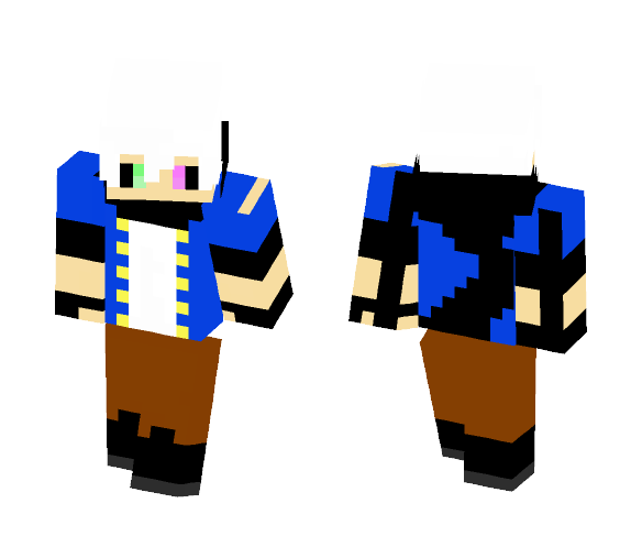 Spray Cray [Treasure Hunter} - Male Minecraft Skins - image 1