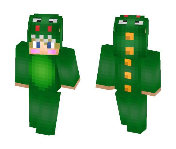 Dino Onesie Boy - Boy Minecraft Skins - image 1