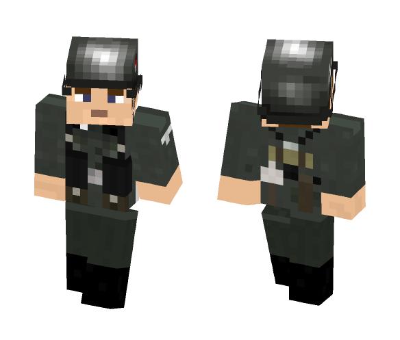 Waffen SS Soldier - Male Minecraft Skins - image 1