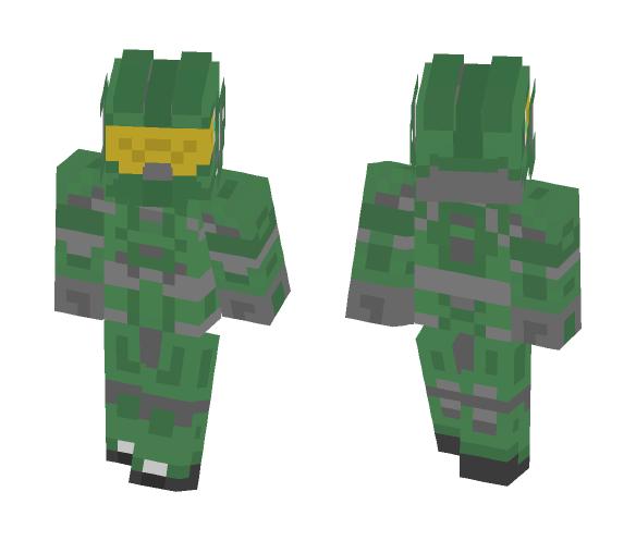 Master Chief - Male Minecraft Skins - image 1
