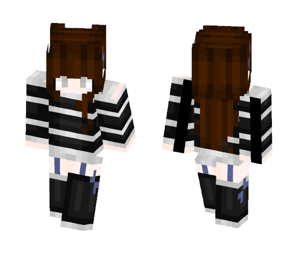 Girl with a twist - Girl Minecraft Skins - image 1