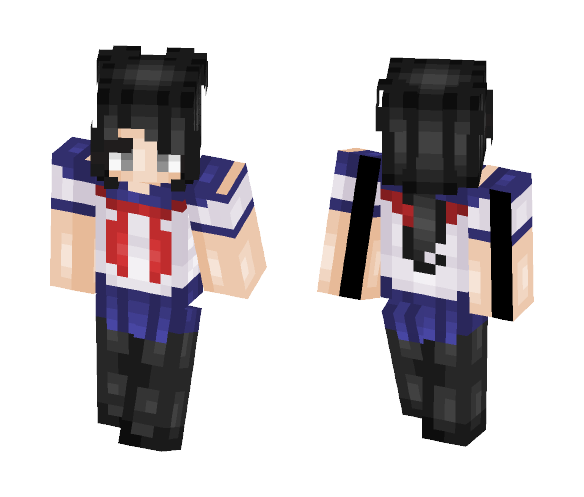 Ayano Aishi - Female Minecraft Skins - image 1
