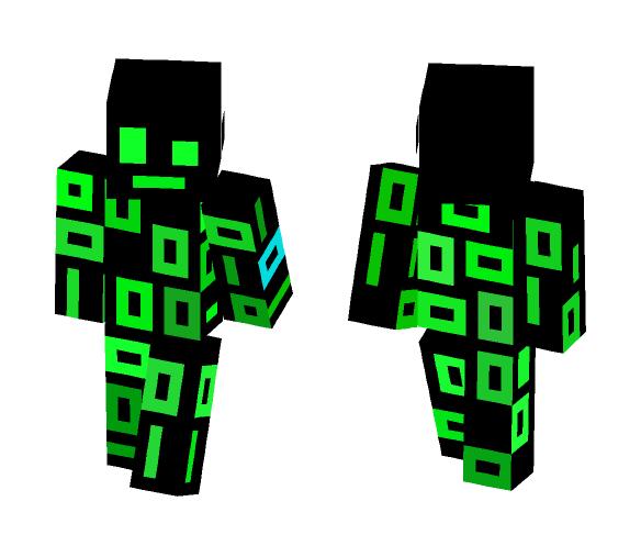 Matrix Human Reloaded - Male Minecraft Skins - image 1