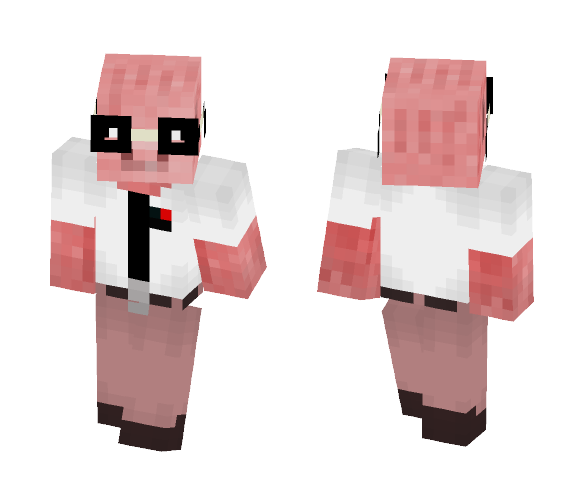 Nerdy Pig⭐️ - Male Minecraft Skins - image 1