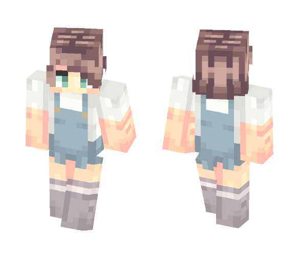 Taking A Break (Popreel) |Ū - Male Minecraft Skins - image 1