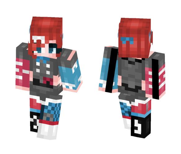 Punk Rock Artist - Female Minecraft Skins - image 1