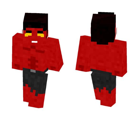 Red hulk | general ross - Comics Minecraft Skins - image 1