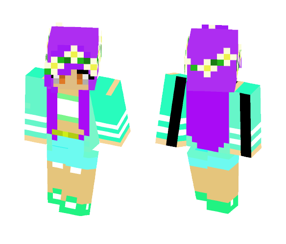 First girl skin - Female Minecraft Skins - image 1