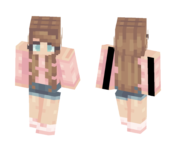Cold Shoulder - Female Minecraft Skins - image 1