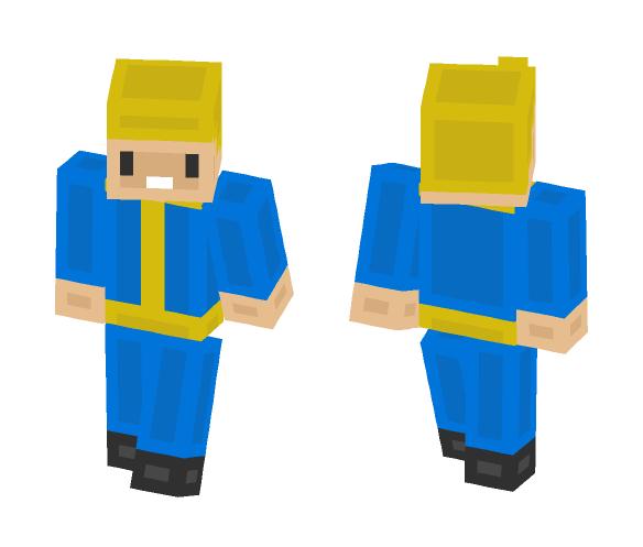 vault boy - Male Minecraft Skins - image 1