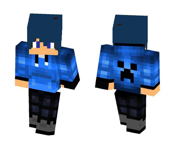 School Boy (Blue) - Boy Minecraft Skins - image 1
