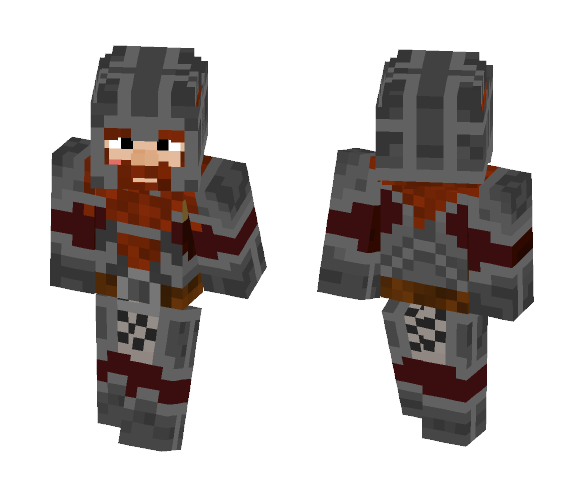 Viking Dwarf - #8 - Male Minecraft Skins - image 1
