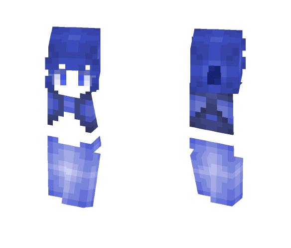 Blυe Dιαмoɴd Lαzυlιтe - Female Minecraft Skins - image 1
