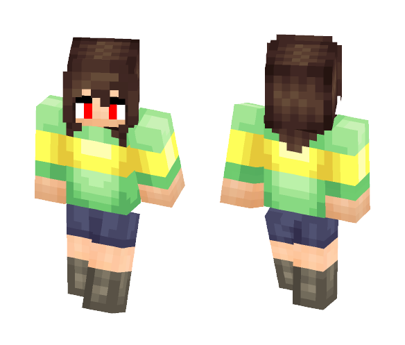 Undertale Chara - Other Minecraft Skins - image 1