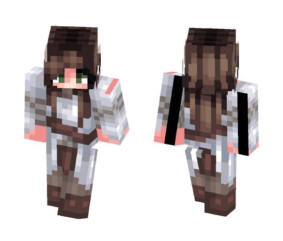 Odreia -- Knight - Female Minecraft Skins - image 1