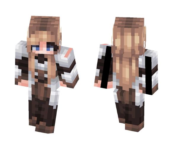 Lionessa -- Knight - Female Minecraft Skins - image 1