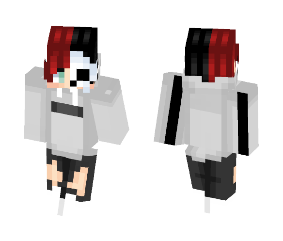 Spooky Lil' Skeleton ~ ♥ - Male Minecraft Skins - image 1