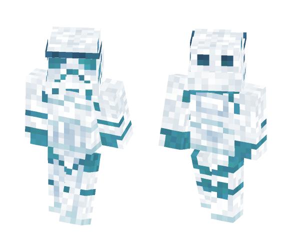 Storm Trooper Hologram STAR WARS - Male Minecraft Skins - image 1