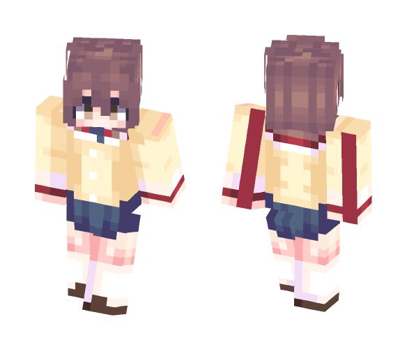 ~Nagisa Furukawa [Clannad] - Female Minecraft Skins - image 1