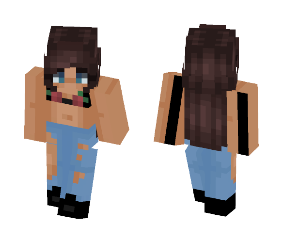 Roses ❤ - Female Minecraft Skins - image 1