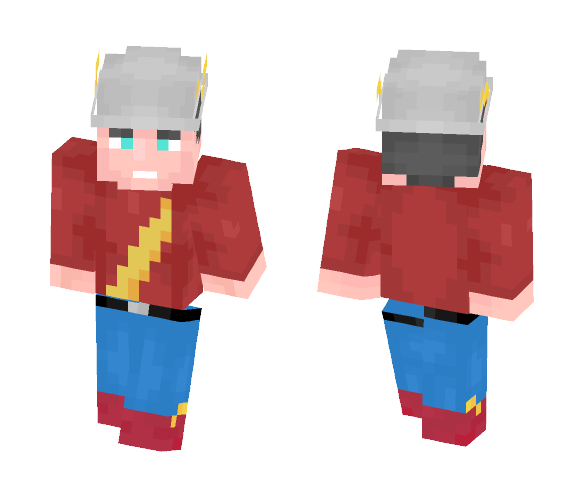 Download Jay Garrick The Flash Minecraft Skin For Free