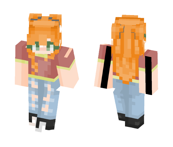 -={Ginny Weasley}=- - Female Minecraft Skins - image 1