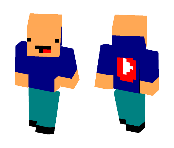 derpy youtuber - Male Minecraft Skins - image 1