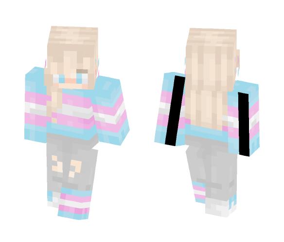 trans pride (+alts) - Other Minecraft Skins - image 1