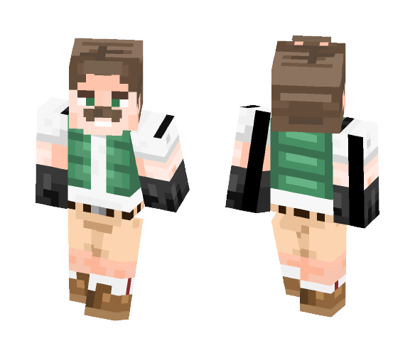 Carlos the Gardener - Male Minecraft Skins - image 1