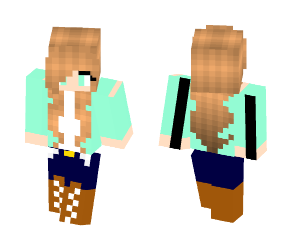 Country - Female Minecraft Skins - image 1