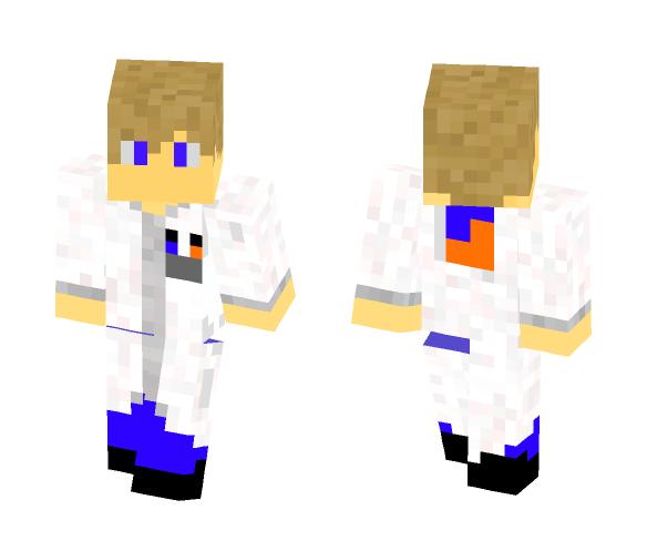 SSS labcoat - Male Minecraft Skins - image 1