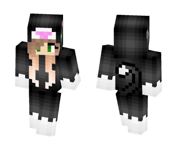 Girl in cat costume - Female Minecraft Skins - image 1