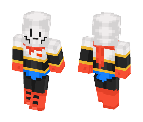 Download Papyrus Undertale Minecraft Skin for Free  SuperMinecraftSkins