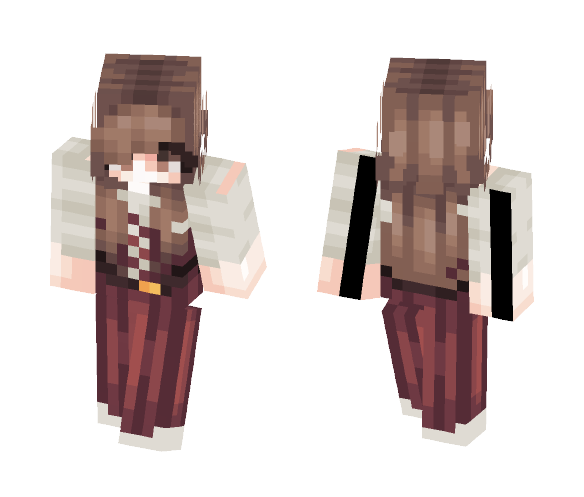 Meadow -- Merchant - Female Minecraft Skins - image 1