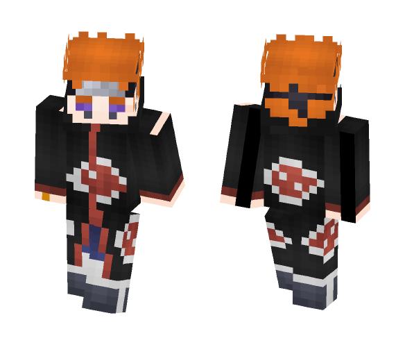 Minecraft Skins: Download Pain Akatsuki Minecraft Skin For Free