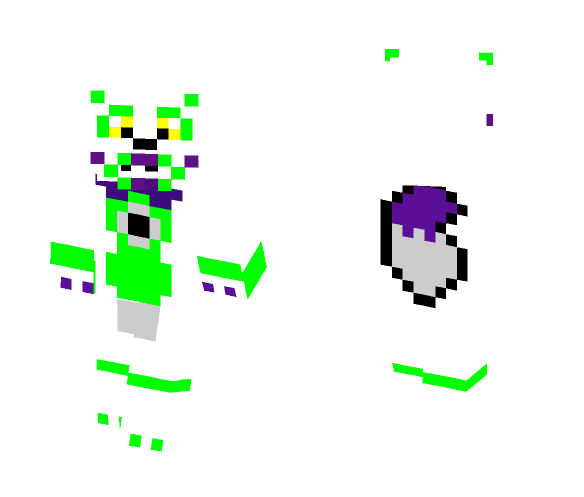 Funtime Tangle ~Fnaf series~ - Other Minecraft Skins - image 1