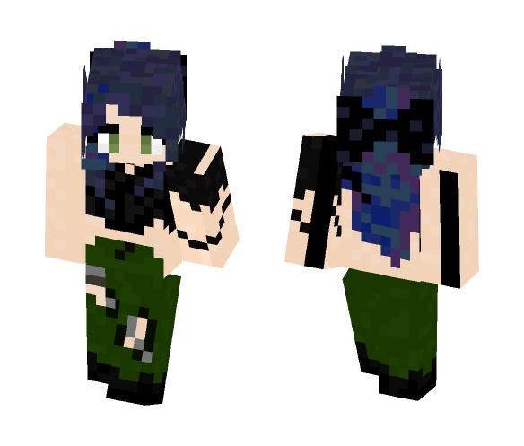 I tried again wooo - Female Minecraft Skins - image 1