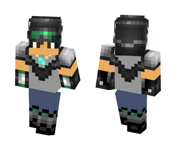 Unfinished Explorer - Male Minecraft Skins - image 1