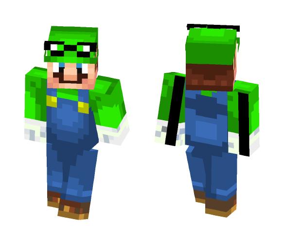 Super Mario Odyssey Luigi - Male Minecraft Skins - image 1