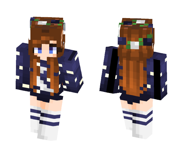 The Moon's Light - Female Minecraft Skins - image 1