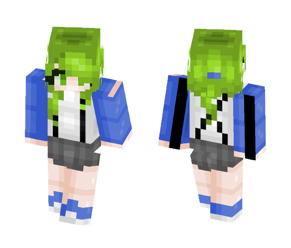 Breeze over the filed - Female Minecraft Skins - image 1