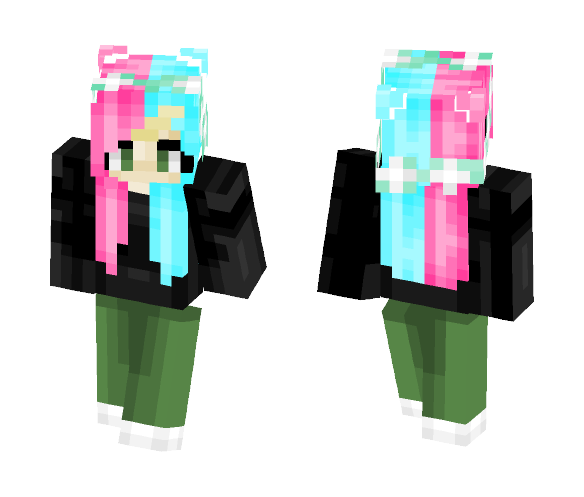 cotton candy // bagged milk - Female Minecraft Skins - image 1